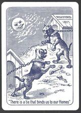 OHIO USPC Blue Bulldog Squeezers Playing Cards Decks DAMAGED TUCK BOX!