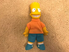 "THE SIMPSONS BART SIMPSON 8"" Plush Doll Stuffed Vintage 1990"