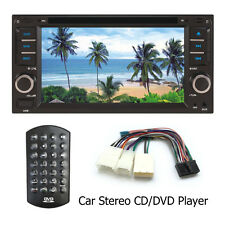 6.5 2DIN Bluetooth Touch Car Stereo CD/DVD Player USB SD AM FM TV Radio For iPod