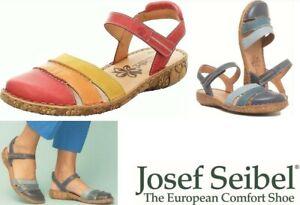 Josef Seibel Germany comfort leather walking Sandals Josef Seibel Rosalie 44