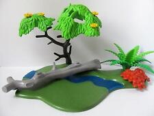 Playmobil Granja/Selva/país vacaciones Paisaje: Río, árbol y plantas NUEVO