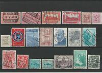 Wertvolles Lot Belgien ab 1917 gestempelt 20 Werte