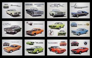 PLYMOUTH DEALER POSTERS 1965 1966 1967 1968 1969 BARRACUDA ROAD RUNNER BELVEDERE