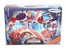 Marvel Ultimate Spiderman Ready Bed Kids Sleeping Bag Sleep Air Mattress New