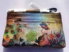 KikiGoga Hand painted Bag hp1953, Floral, Unique & Rare, Prime Quality