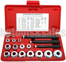20 Pc Bushing Installer Remover & Inserting Set Driver Tool Kit Automotive NEW