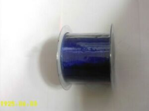 70mm organza ribbon wired edge by 20 metre roll Royal blue