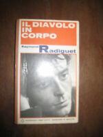 LIBRO RADIGUET RAYMOND IL DIAVOLO IN CORPO MILANO GARZANTI 1966