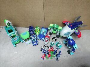 Pj Masks Bundle spaceship, figures, vehicles, Romeoslaboratory and turbo movers
