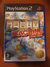 FRUIT MACHINE MANIA - PLAYSTATION 2 PS2 USATO