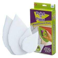 JML Point 'n' Paint Replacement Paint Pads 2x Large 2x Small Brand New & Boxed