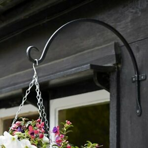"""Black Forge Heavy Duty Round Hook Bracket Available In 8"""" 11"""" 16"""""""