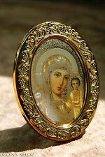 Our Lady Of Kazan Russian Icon In Gold Frame Казанская Божьей Матерь Икона