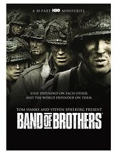 BAND OF BROTHERS 10-PART MINI SERIES WORLD WAR II. EASY CO. 506TH  10-DVD SET