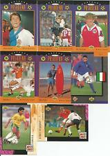 1994 World Cup Soccer Upper Deck Post Card From Pasadena 30 Card Set