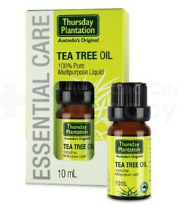 Thursday Plantation 100% Pure Antibacterial Tea Tree Oil - 10ml, 25ml & 50ml