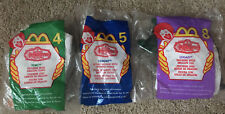 McDonalds Happy Meal Toy Lot NIP Mystic Knights - #4, #5, #8 - lot of 3
