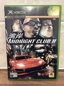 Midnight Club 2 Xbox Original UK PAL **Super Fast Dispatch**