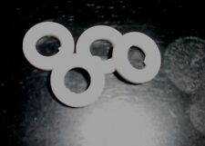 Triang Minic Car & Tri-ang Truck FOR PRESS STEEL HUBS   4 WHITE TIRES