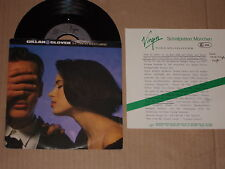 """GILLAN & GLOVER -She Took My Breath Away- 7"""" mit Product Facts Promo-Flyer"""