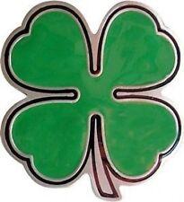 IRISH Clover Leaf Belt Buckle shamrock