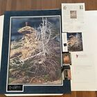 """Bev Doolittle """"PRAYER FOR WILD THINGS"""" with special frame + extras"""