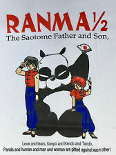 Adult Extra Large Ranma 1/2 T-Shirt Size Xl Anime Tokyo Japan Vintage Style