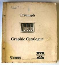 TRIUMPH TOLEDO - Car Parts List - c1973 - #519932