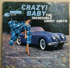 """""""Crazy! Baby"""" by The Incredible """"Jimmy Smith"""" BLP BLUE NOTE 4030 Hi-Fi Vinyl LP"""