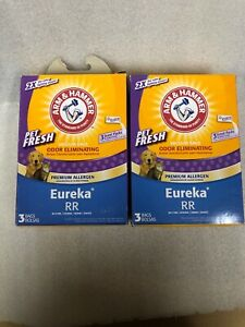 Arm & Hammer Eureka Style RR Pet Vacuum Bag 64681G Two Boxes New