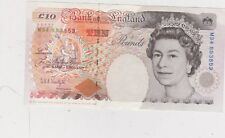 REPLACEMENT B368 KENTFIELD £10 M34 BANKNOTE IN NEAR MINT CONDITION