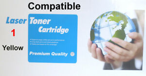 1 Compatible Yellow Toner To Replace HP CB542A,CE322A,CF212A,Canon 716 Y,731 Y