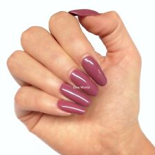 Bluesky Dark Musky Pink Nail Gel Polish – MARSALA  - UV/LED Soak Off 10ml