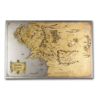 Niue -2021- THE LORD OF THE RINGS™ - Middle Earth - 35g Pure Silver Foil!!!