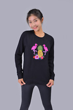 Sweater Black Casual  Embroidered Pullover Long Sleeve