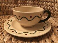 California Provincial by Metlox - Poppytrail - Vernon Flat Cup & Saucer Set