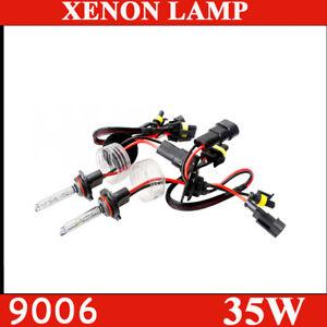 9006 HID Xenon Headlight HB4 Bulb Conversion 4300K 6000K White 8000K 12000K Blue