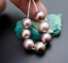 """7 AAA FRESHWATER RARE COLORFUL CULTURED EDISON XL PEARLS 2.65""""  MIRROR LUSTER"""