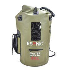 Wasserdichter Rucksack Seesack Packsack Dry Bag Wanderrucksack 40 L grün Sivor