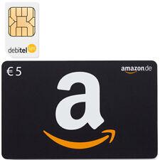 debitel light SIM Karte + 5,00 EURO AMAZON GUTSCHEIN KOSTENLOS
