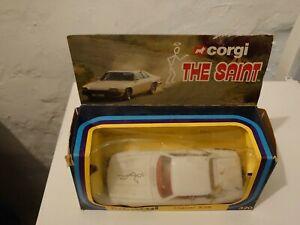 Vintage Corgi 320 The Saint Jaguar XJS
