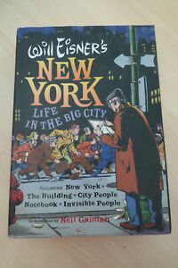 Will Eisner's New York Life in the Big City HC Norton 1st Printing 2006
