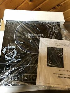 TOWNCRAFT Chef's Ware 1300w Portable Induction Cooktop Cooker New