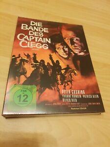 BLU-RAY  DIE BANDE DES CAPTAIN CLEGG - MEDIABOOK Anolis Hammer 14 Cover A (+DVD)