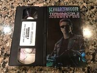 Terminator 2 Judgment Day VHS! Awesome 1991 Thriller! See) Aliens & True Lies