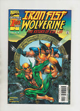 Iron Fist Wolverine #1 - Return Of K'un Lun! - (Grade 9.0) 2000