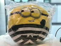 Brand New Minions Minion Prison Prisoner Universal  Fluffy Huge Plush Japan