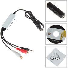 Digital Audio USB Recorder For Converting Vinyl Cassette To CD/MP3 Audio Encoder