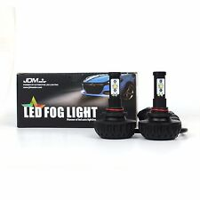JDM ASTAR 2x 4400lm 9005 HB3 Cree LED White Fog DRL Driving Light Bright Bulbs