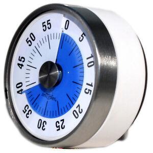 BLAU Disk Time Zeit Timer MIT NAMENSDRUCK Autismus ADHS Geschenk für Lehrer FASD